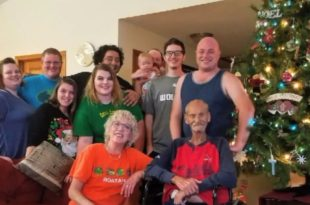dying dad Dying father celebrates Christmas in July with family 1532975090199 310x205