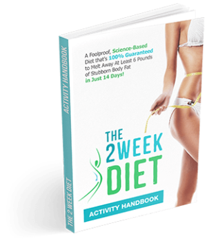 lose weight in 2 weeks The 2 Week Diet | Lose Weight In 2 Weeks | Program and Plan | Diet Book | How To Lose Weight In 14 days! Activity Handbook small 300x346