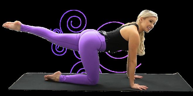 Yoga Booty Challenge 5